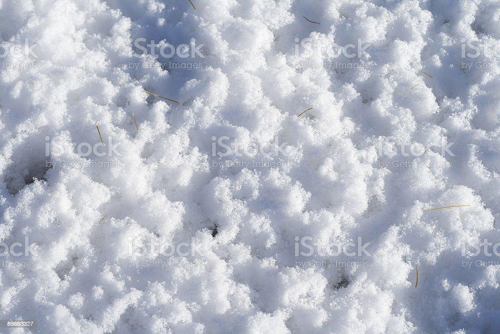 Snow Lizenzfreies stock-foto