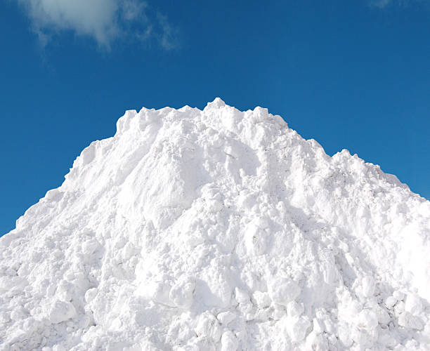 snow pile - snow pile stock photos and pictures