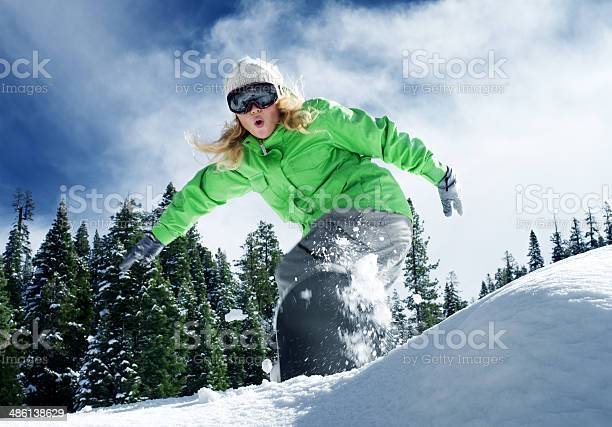 Snow Ride Stock Photo - Download Image Now