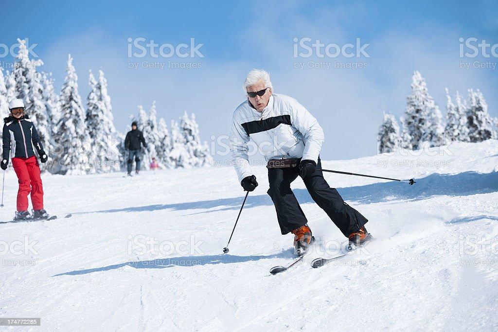 Schnee Skifahren – Foto