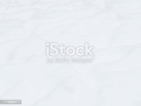 Pure snowy surface. Snow only. Winter background, element for winter design.