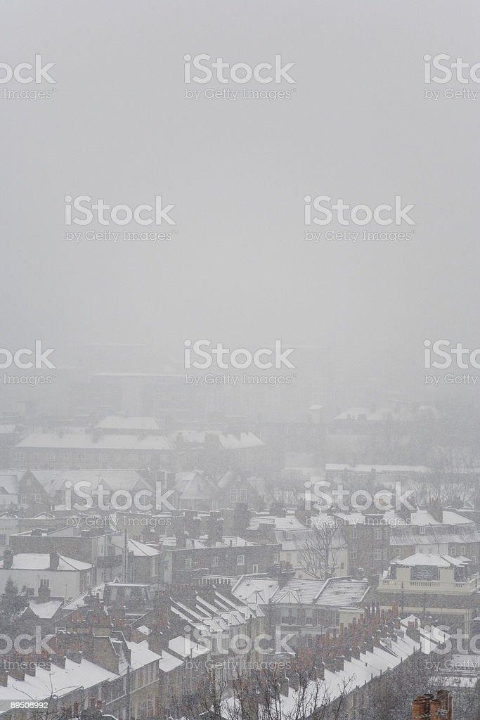 Snow Storm royalty-free stock photo