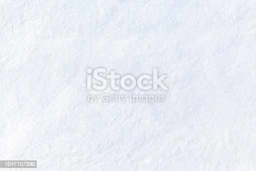 White abstract background. Fresh fine snow, like dust.