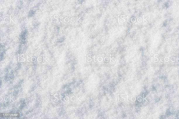 Snow Texture Stock Photo - Download Image Now