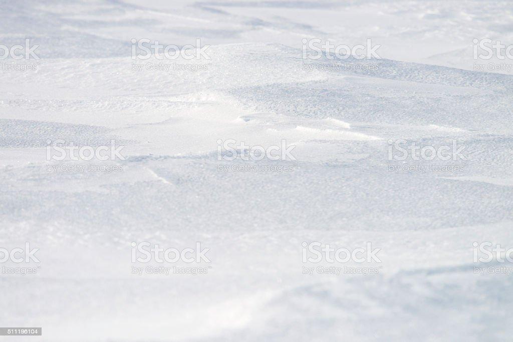 Snow Texture, winter background stock photo