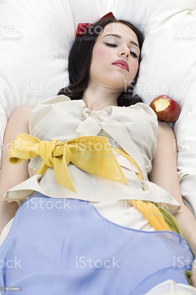 Snow white 免版稅 stock photo