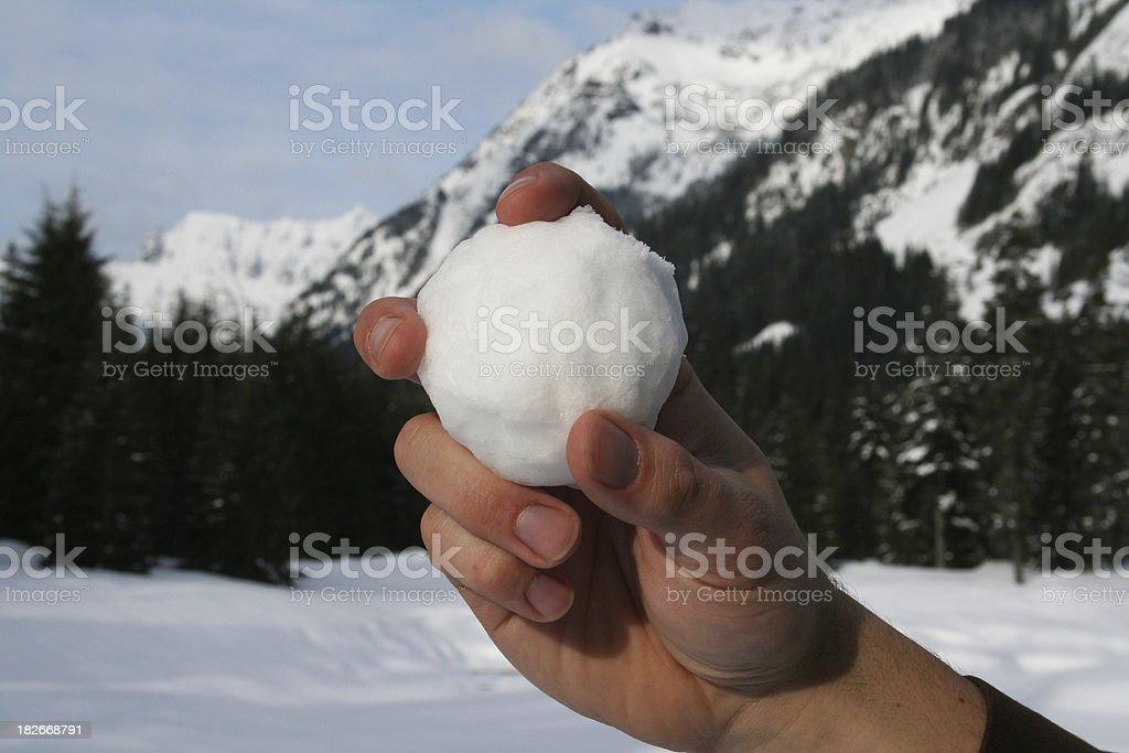 Boule de neige Joueur de Baseball - Photo