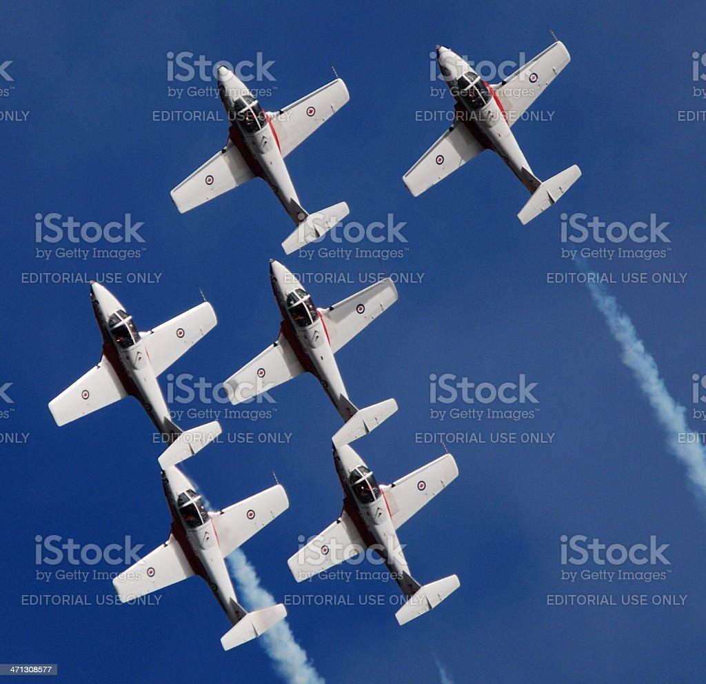 Snowbird Performance stock photo