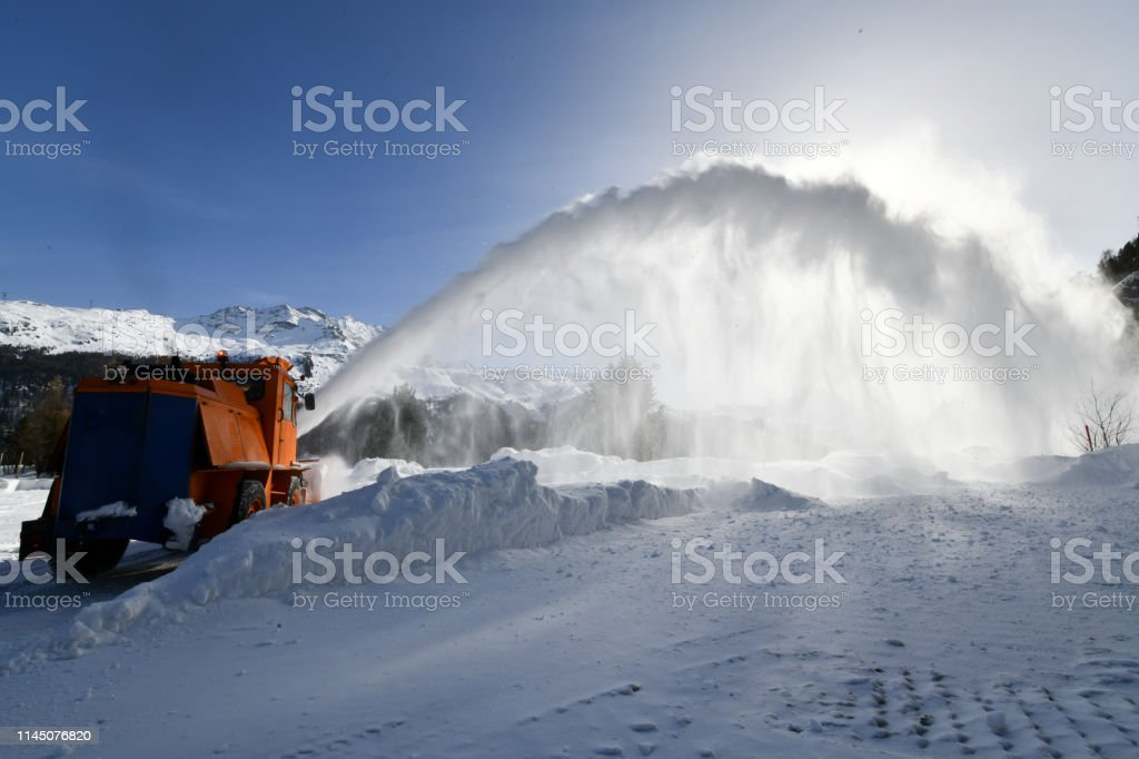Schneefall – Foto