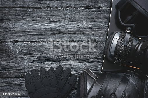 istock Snowboard background. 1198889662