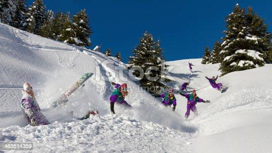603993820 istock photo Snowboard fun 463514359