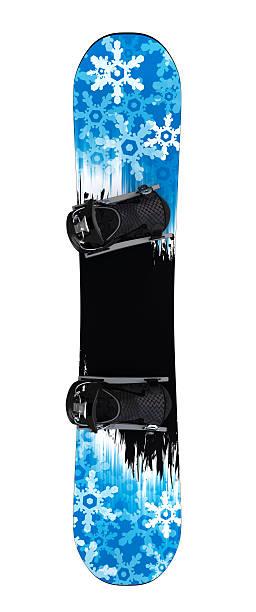Snowboard isolated II stock photo