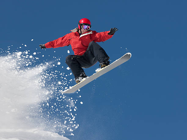 snowboard jump - daredevil stock pictures, royalty-free photos & images