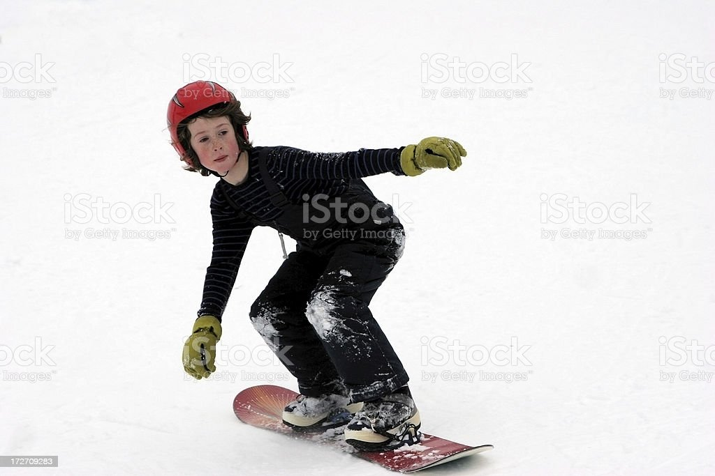 Snowboard! stock photo