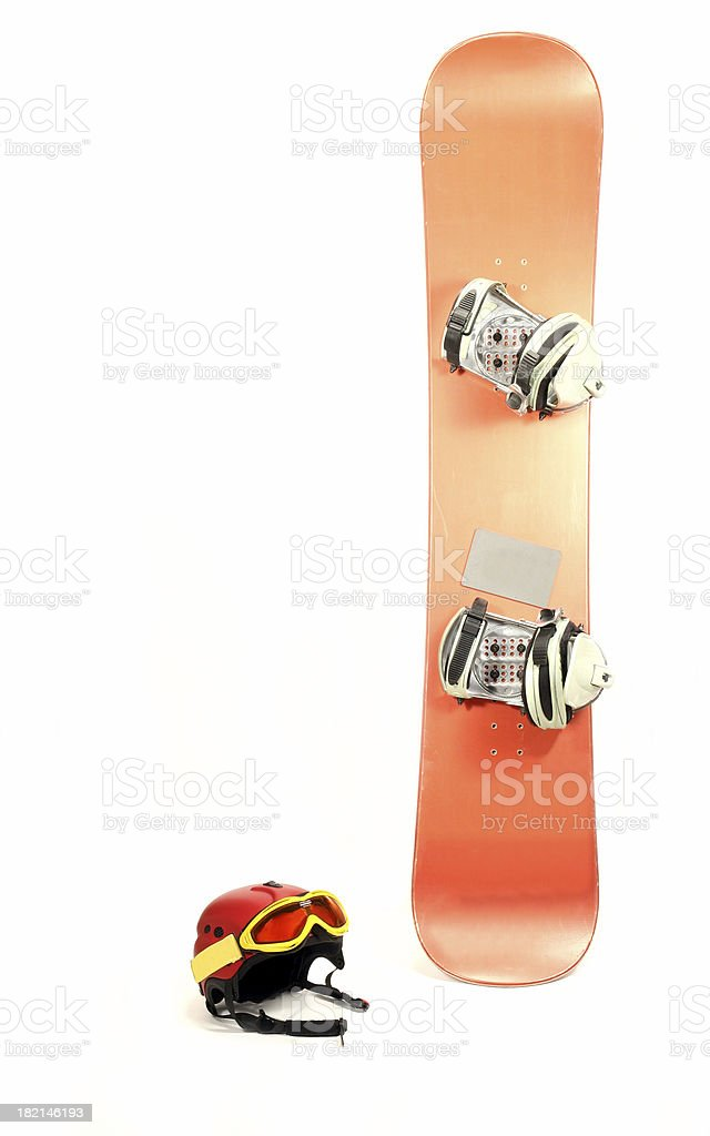 Snowboard #4 royalty-free stock photo