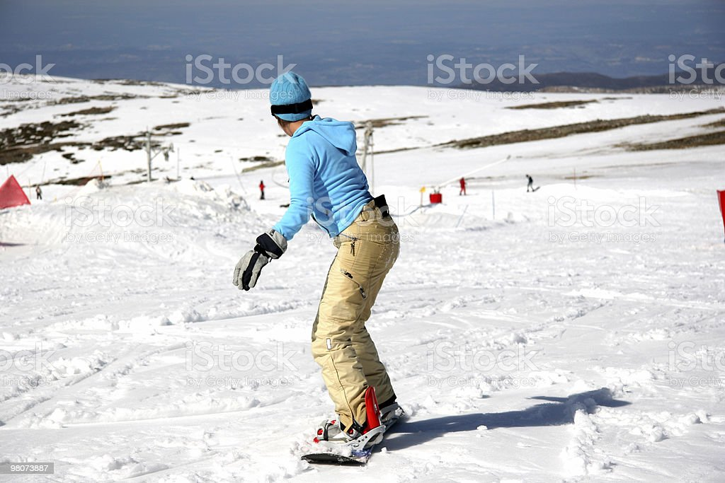 Snowboard royalty-free stock photo