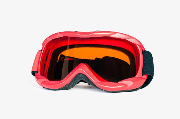 snowboard ski goggles stock photo