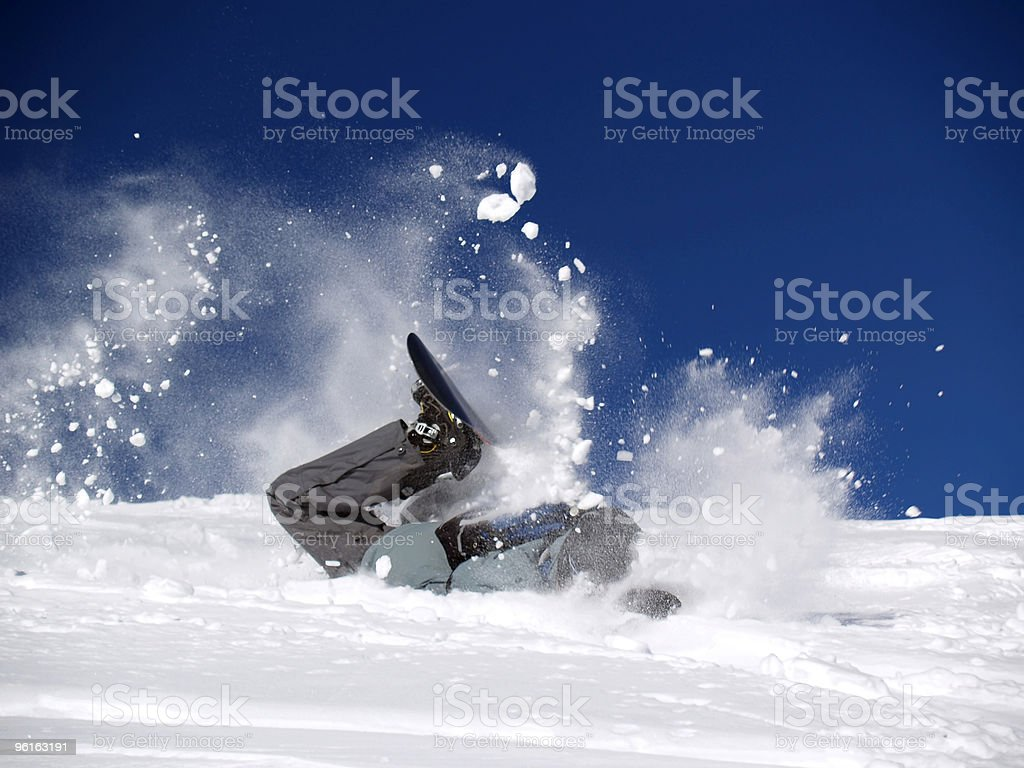 Snowboarder 2 stock photo