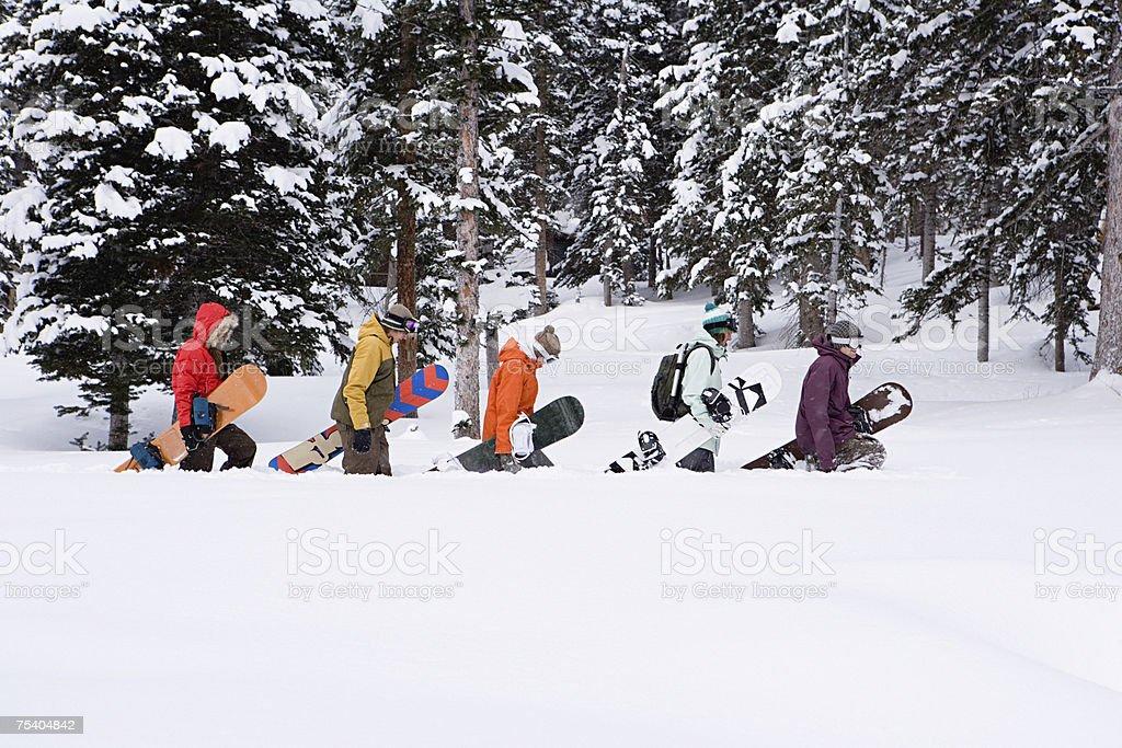 Atleta de snowboard foto de stock royalty-free