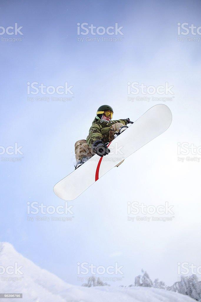 Snowboarder - foto de stock