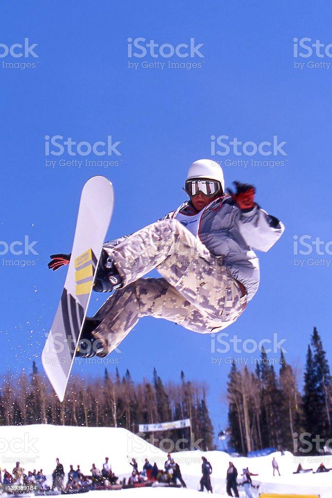 Snowboarder - Winter Sports royalty-free stock photo