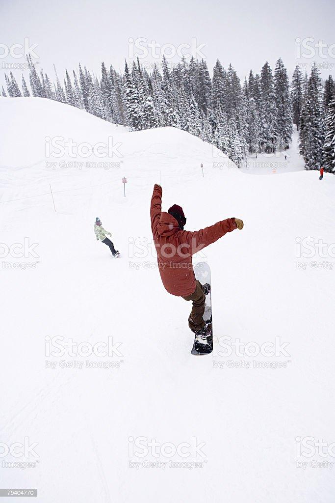 Snowboard foto de stock royalty-free