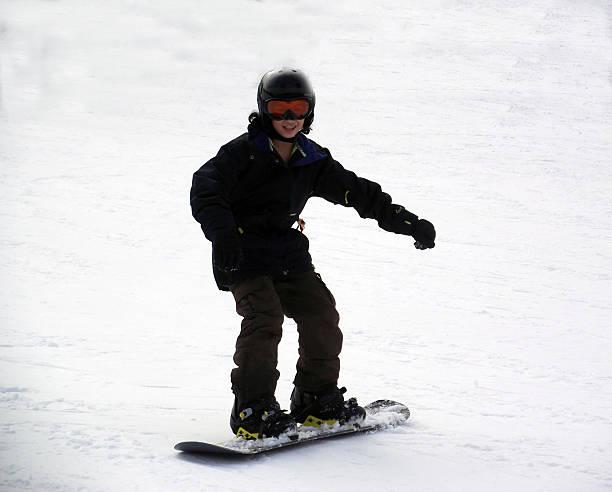 Snowboarding1 stock photo