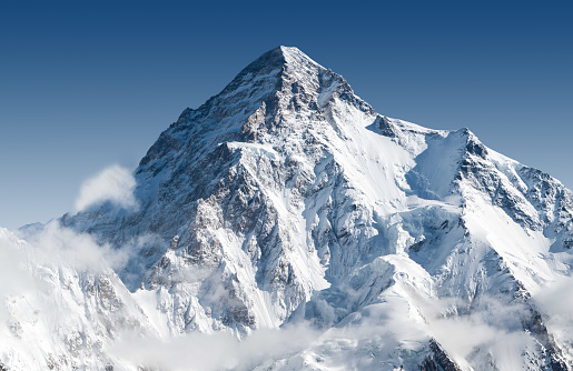K2 the second tallest mountain in the world