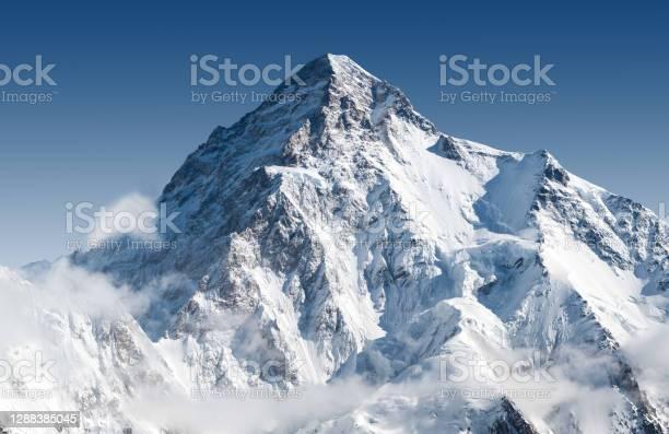 Photo of Snowcapped K2 peak
