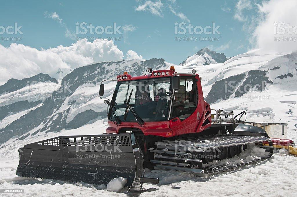 Snowcat stock photo