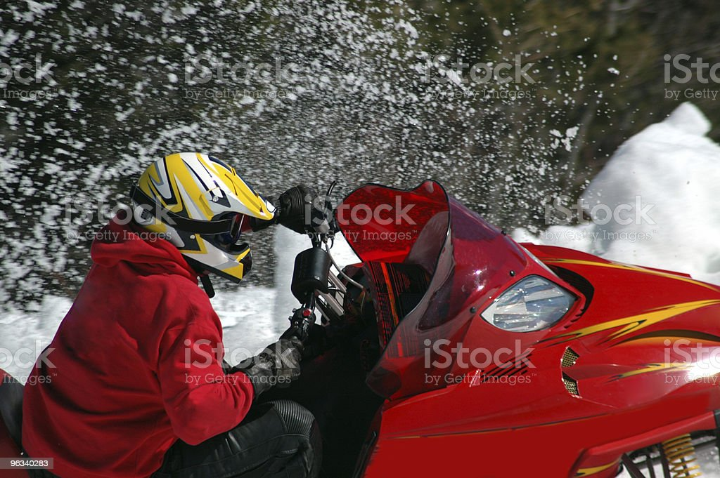 Snowcross royalty-free stock photo