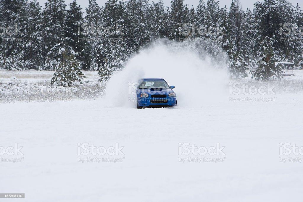 snowcross race royalty-free stock photo