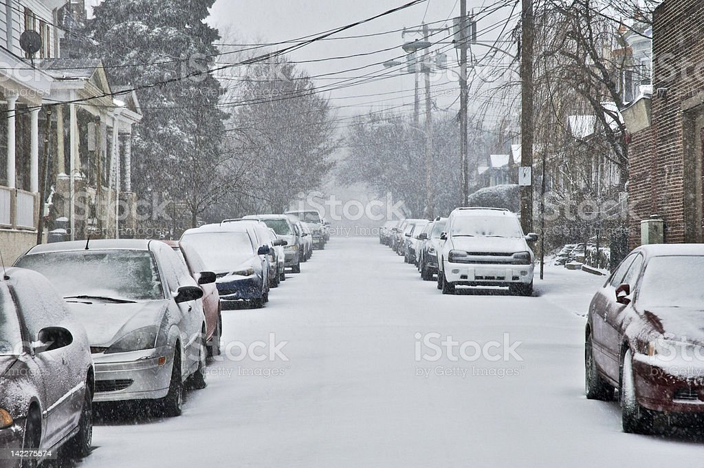 Snow-day stock photo