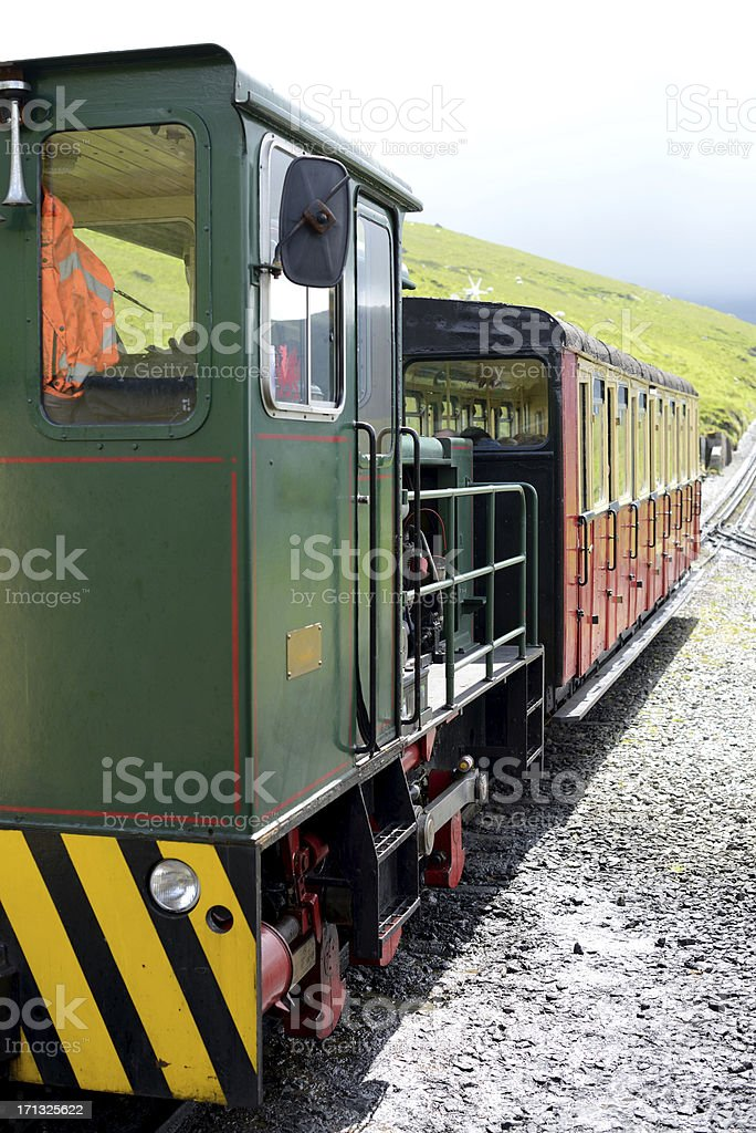 Snowdon Mountain Railway stock photo