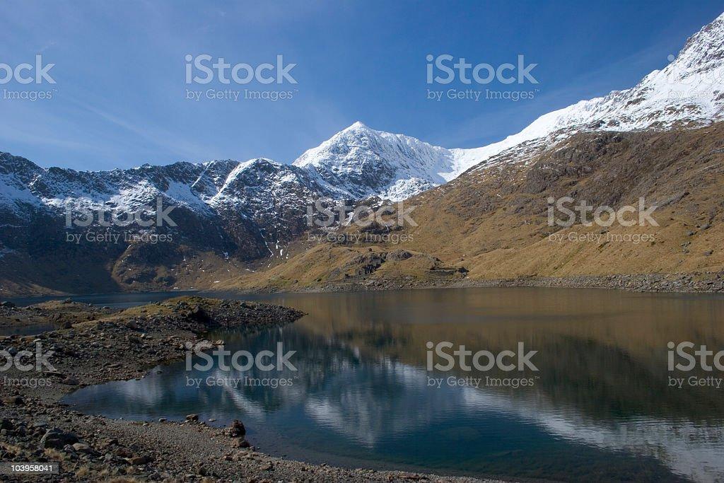 Snowdon royalty-free stock photo