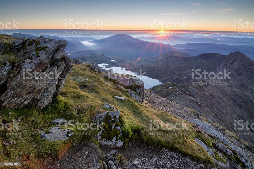 Snowdonia National Park stock photo