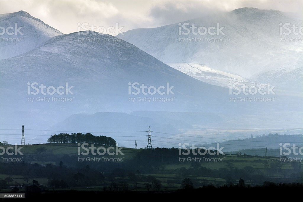 Snowdonia stock photo