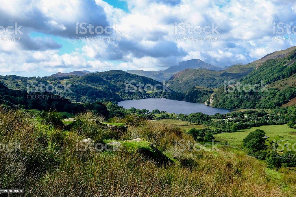 Snowdonia stock photo