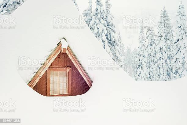 Snowed In For The Winter Weather Stock Photo - Download Image Now