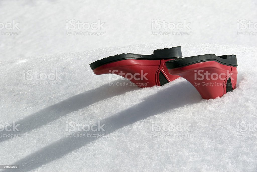 Snowed Under stock photo