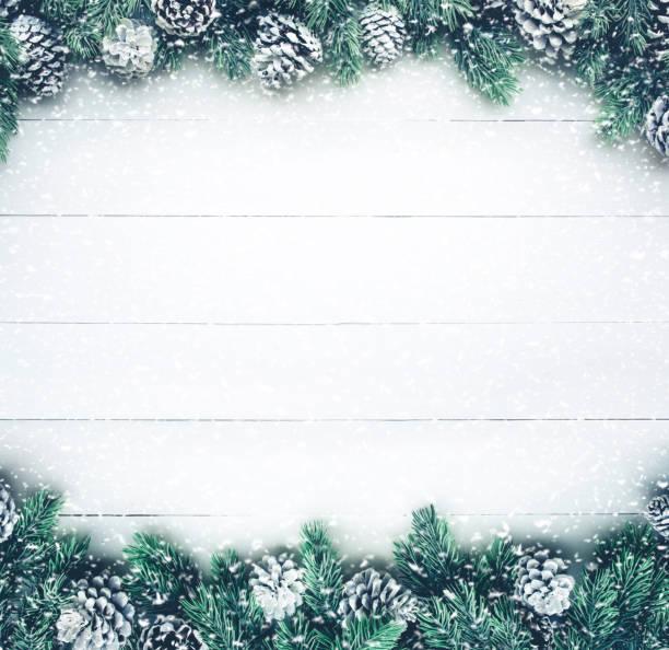 Snowfall on christmas fir tree with pine branch on wood picture id857917088?b=1&k=6&m=857917088&s=612x612&w=0&h=11zkgstvp3v2ekl7u cm aciy853ngao5qkfmaybvuo=
