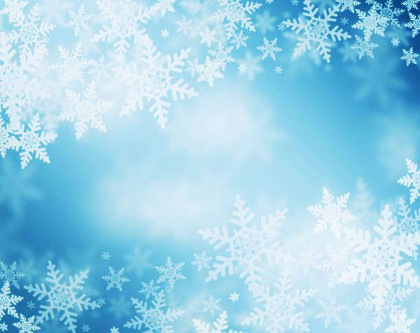 snowflake background - snowflake background stock pictures, royalty-free photos & images