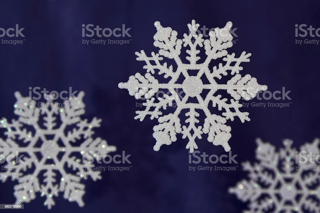Snowflake background royalty-free stock photo