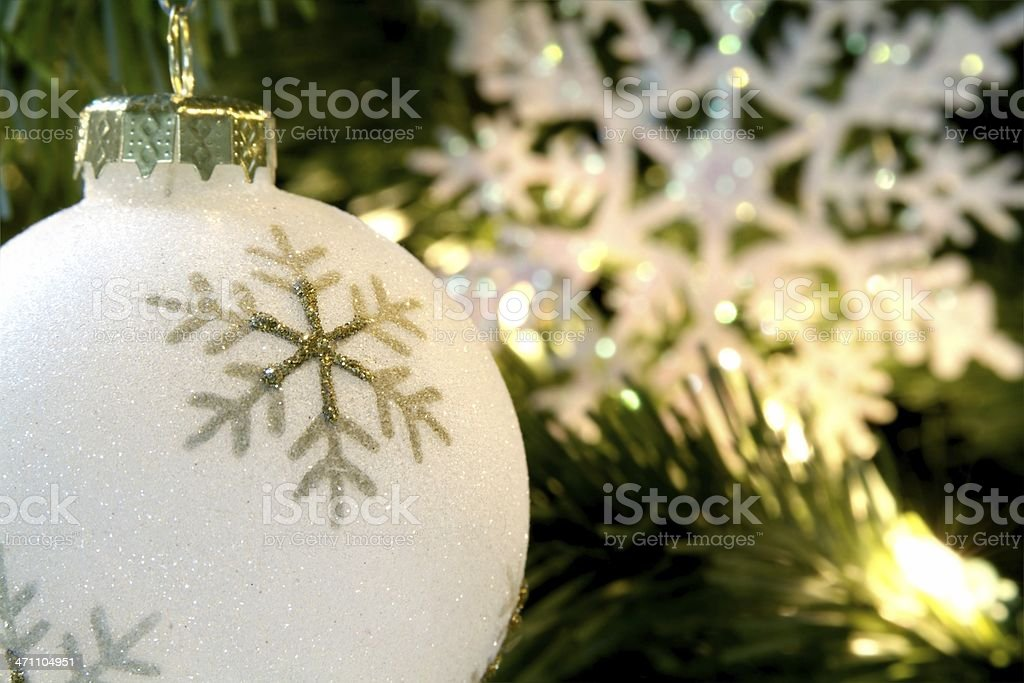 Snowflake Bauble royalty-free stock photo