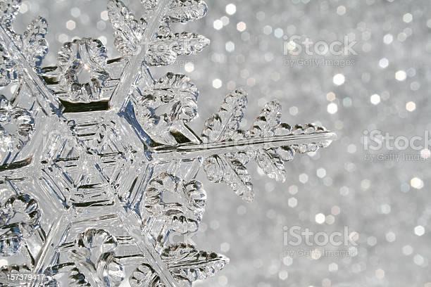 Snowflake Macro Stock Photo - Download Image Now