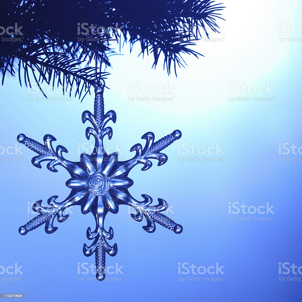snowflake royalty-free stock photo