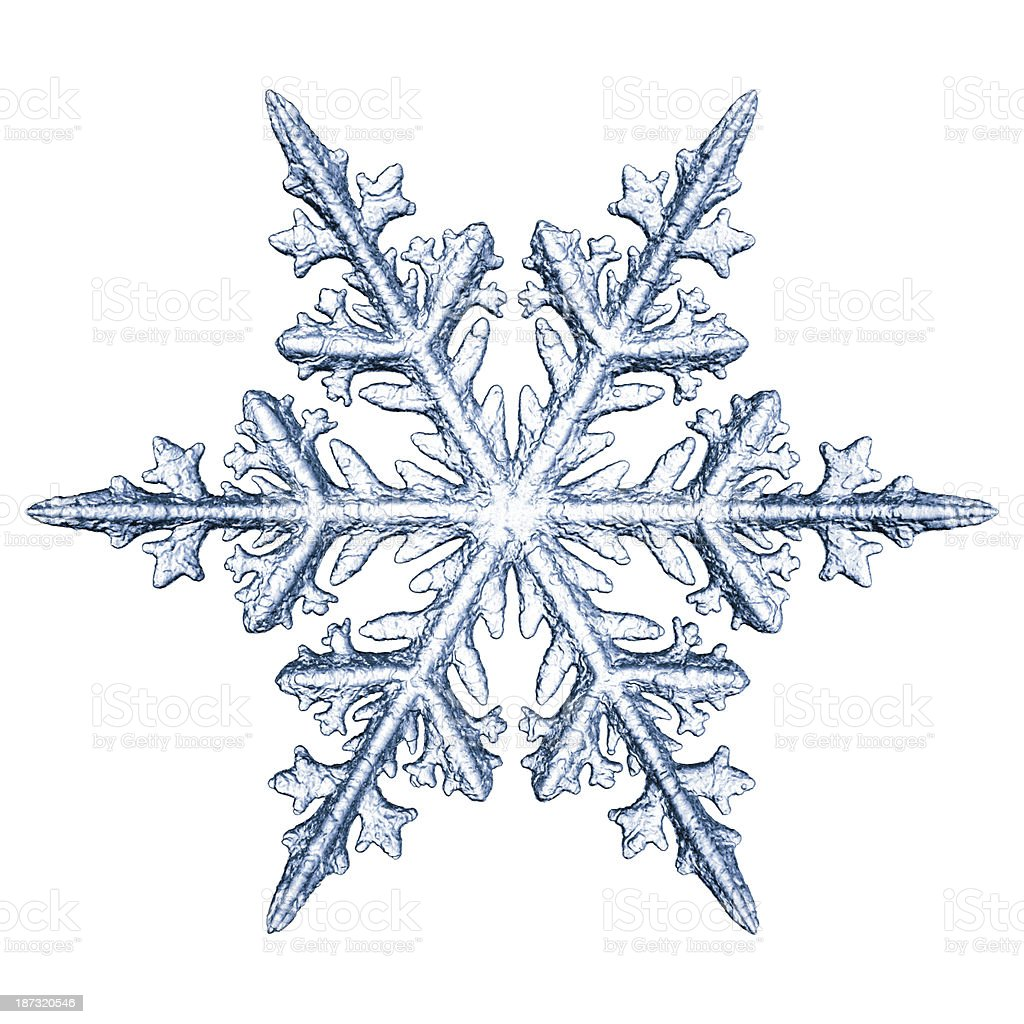 Snowflake stock photo