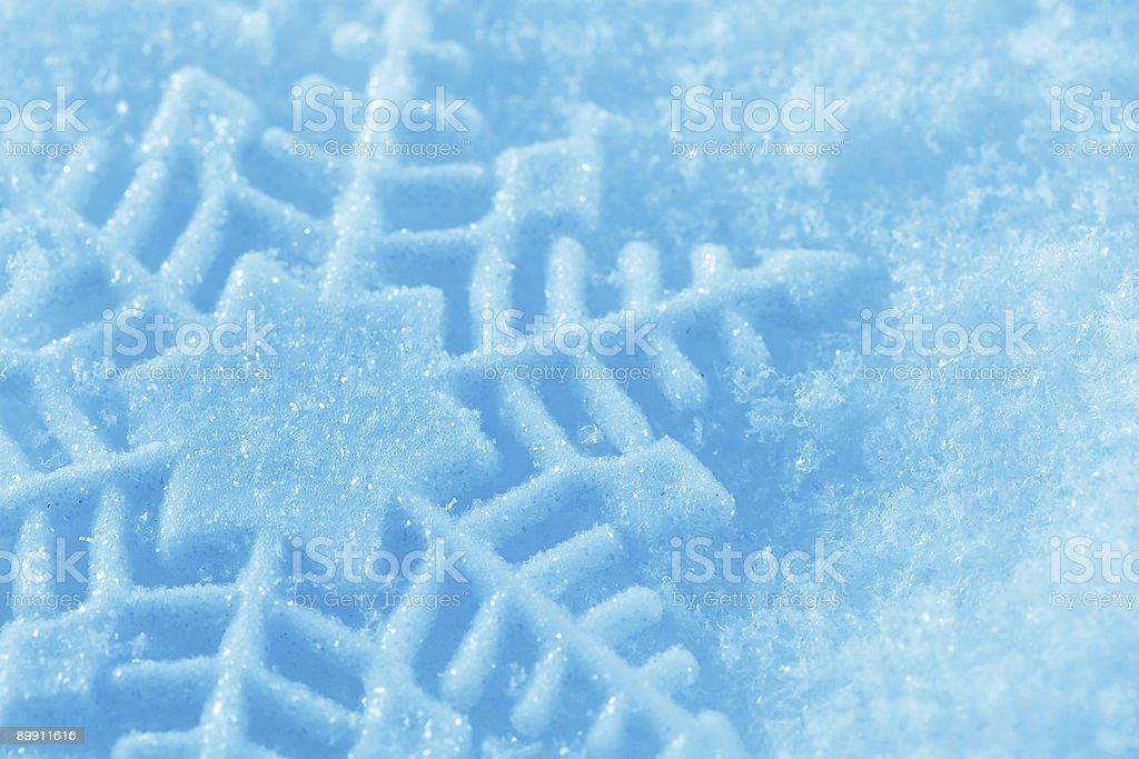 Снежинка Стоковые фото Стоковая фотография