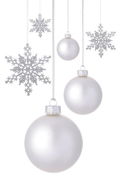 Neve e decorações comuns de - foto de acervo