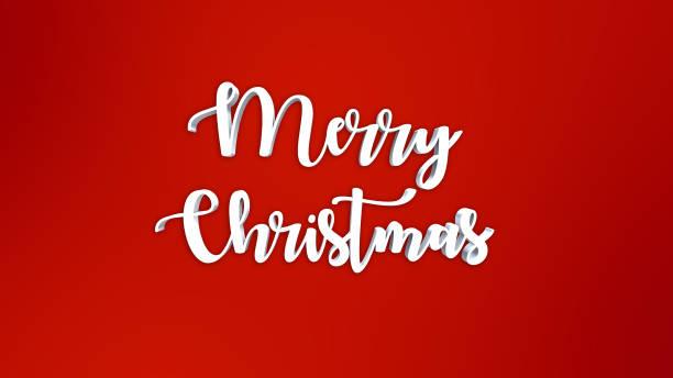 3d schneeflocken weihnachten hintergrund - 3d typografie stock-fotos und bilder